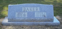 Raycene <i>Evans</i> Baker