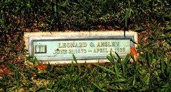 Leonard Olen Ansley