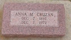 Anna M Cruzan