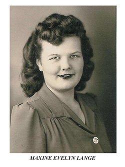 Maxine Evelyn <i>Lange</i> Carlson