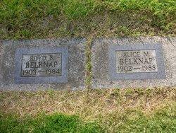 Alice M Belknap