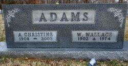 Anna Christine <i>Lamb</i> Adams