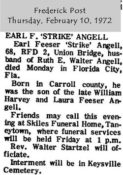 Earl Feeser Strike Angell