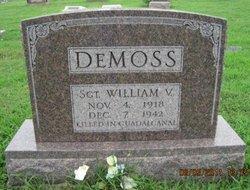 Sgt William Virgil DeMoss, Jr