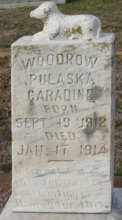 Woodrow Pulaska Caradine