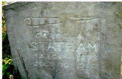 Cordela <i>Durham</i> Statham