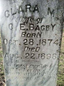 Mrs Clara May <i>Parks</i> Bagby