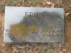 Edward Benjamin Ed Fries