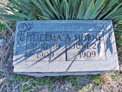 Thelma A Horne