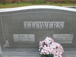 Chester W. Flowers
