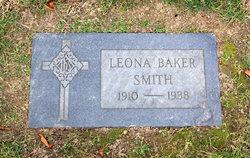 Leona M. <i>Baker</i> Smith