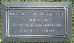 Mitchell Leon General Kane McDowell, Sr