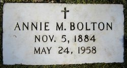 Annie M. Bolton