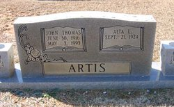 Alta Louise <i>Lipscomb</i> Artis