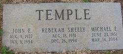 Johnny E. Temple