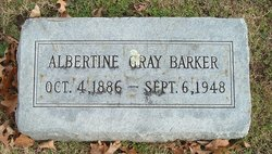 Albertine Gray Barker
