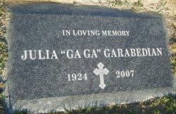 Julia Gaga <i>Bendian</i> Garabedian