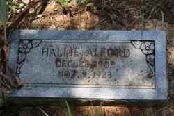 Hallie <i>Purswell</i> Alford