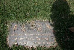 Mary Ella <i>Westmoreland</i> Greene