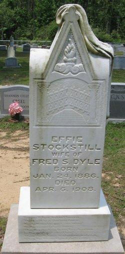 Effie <i>Stockstill</i> Dyle