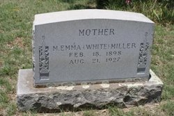 Mary Emma <i>White</i> Miller