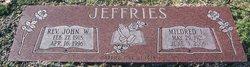 Rev John William Johnny Jeffries, Sr
