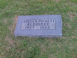Adella <i>Pickett</i> Aldridge