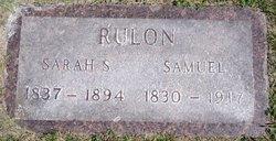 Sarah Sevena <i>Masters</i> Rulon