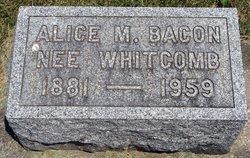 Alice M <i>Whitcomb</i> Bacon