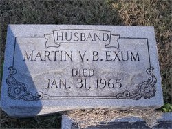 Martin Van Buren Exum, Jr