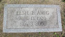 Elsie E. <i>Swank</i> Amig