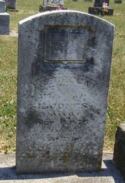 Rebecca <i>Pearson</i> Jones