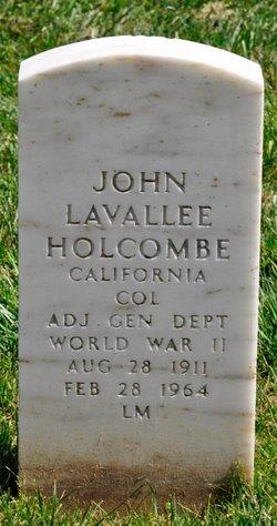 John Lavallee Holcombe