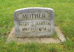 Mary Jean <i>Bergeson</i> Martin