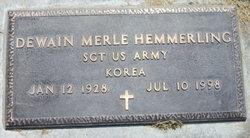 Dewain Merle Hemmerling