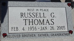 Russell G Thomas