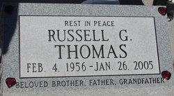 Russell G Thomas