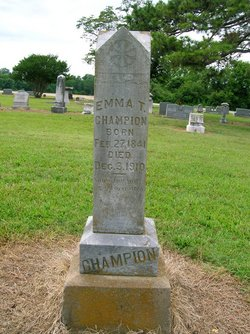 Emma <i>Chaney</i> Trimble Champion