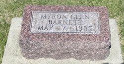 Myron Glen Barnett