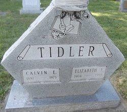 Elizabeth Ellen <i>Flick</i> Tidler