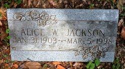 Alice W. Jackson