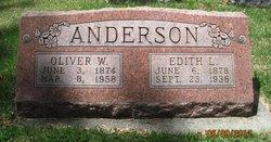 Edith L <i>Willard</i> Anderson