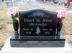 Pearl Marguetta <i>McAnally</i> Allen