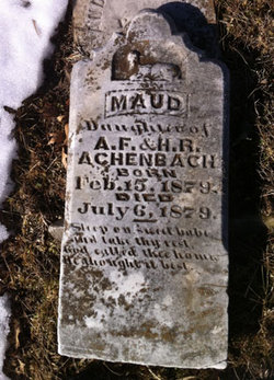 Maude Achenbach
