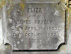 Eliza <i>Flintham</i> Kanely