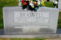 Fronnie Ercel <i>Hinson</i> Braswell