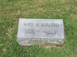 Mary M. <i>Dean</i> Burford