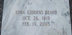 Edna <i>Gliddens</i> Beard