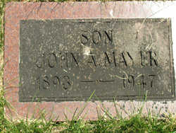 John A Mayer