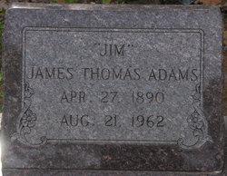 James Thomas Jim Adams